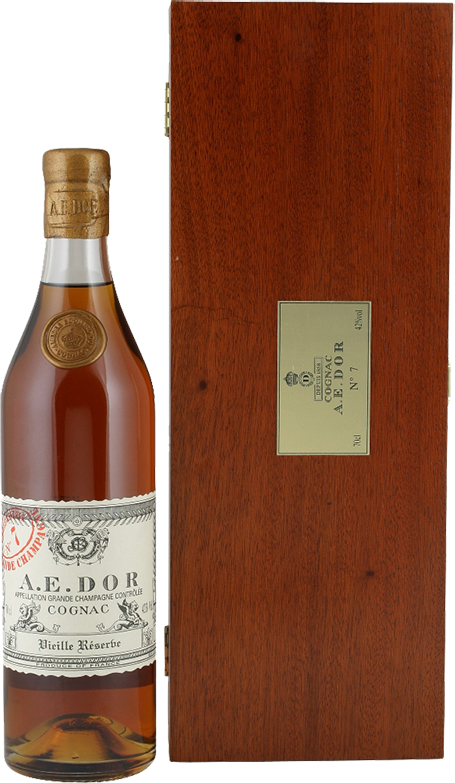A.E. Dor, №7, Vieille Reserve, in wooden box, 0.7 л.