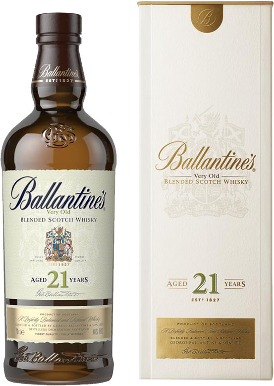 Ballantine's 21 years old, in gift box, 0.7 л.