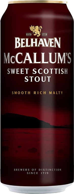 Belhaven, McCallum's Stout, (with nitrogen capsule), in can, 0.44 л.