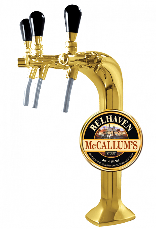 Belhaven, McCallum's Stout, in keg, 30 л.