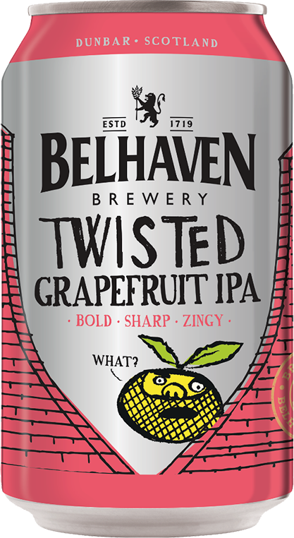 Belhaven, Twisted Grapefruit IPA, in can, 0.33 л.