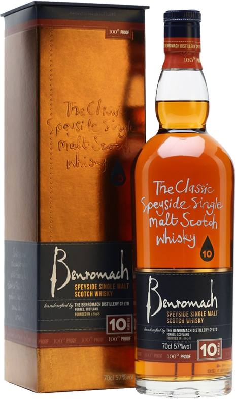 Benromach, 10 Years Old, 100° Proof, in gift box, 0.7 л.