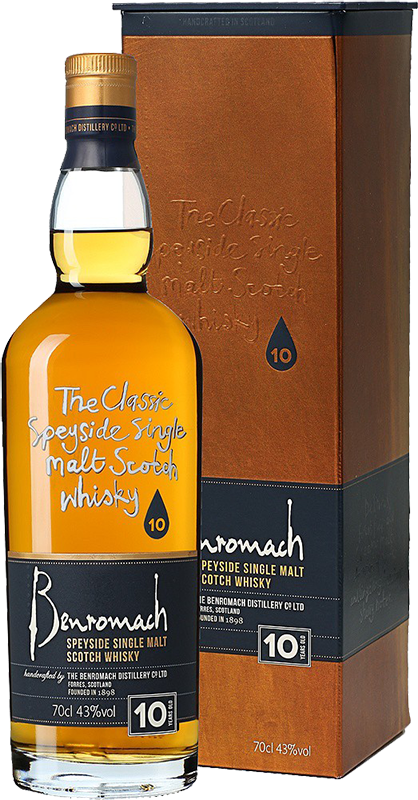 Benromach, 10 Years Old, in gift box, 0.7 л.