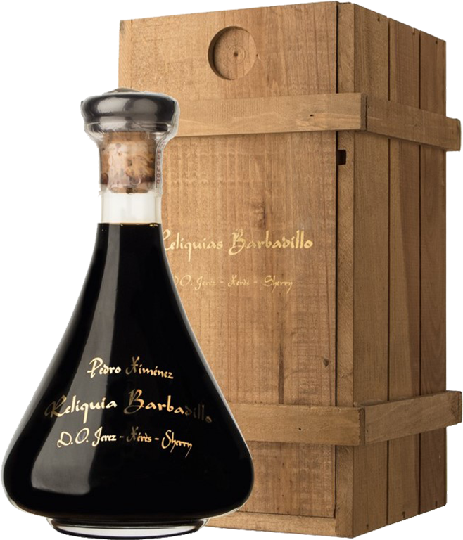 Barbadillo, Pedro Ximenez, Reliquia, in wooden box