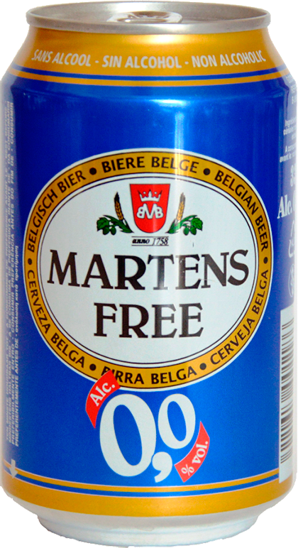 Martens, Free, in can, 0.33 л.
