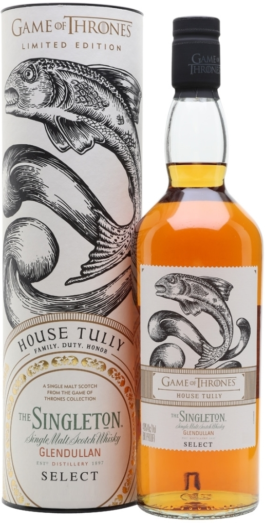 Game of Thrones, House Tully, The Singleton of Glendullan Select, in tube, 0.7 л.