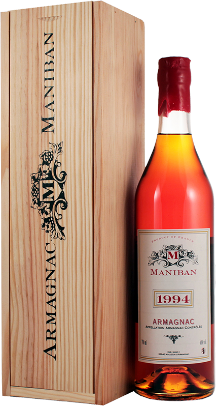 Maniban, Armagnac, 1994, in wooden box, 0.7 л.