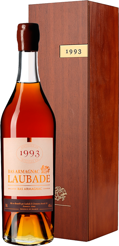 Chateau de Laubade, Vintage 1993, in wooden box, 0.7 л.