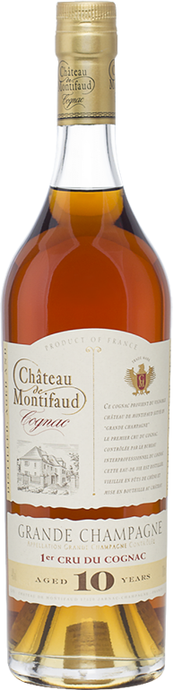 Chateau de Montifaud, Grande Champagne, 10 Years Old,  0.7 л.