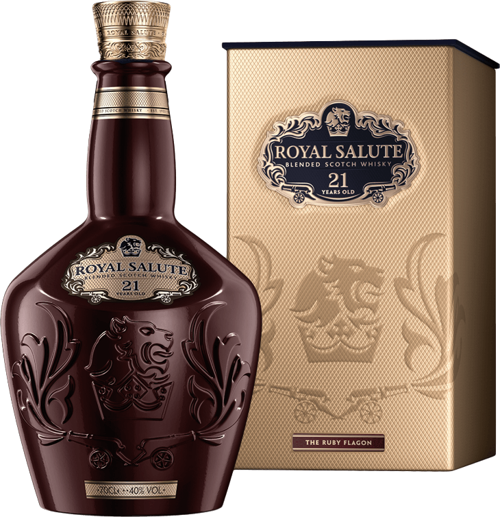 Royal Salute 21 years old, in gift box, 0.7 л.