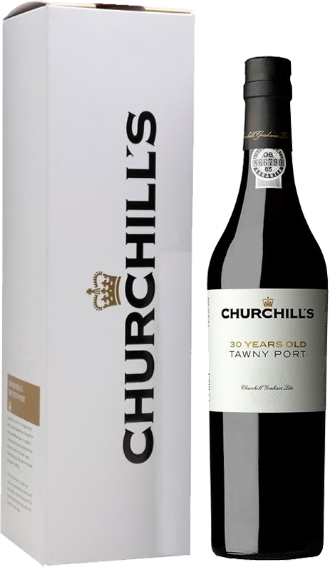 Churchill's, Tawny Port, 30 Years Old, in gift box, 0.5 л.