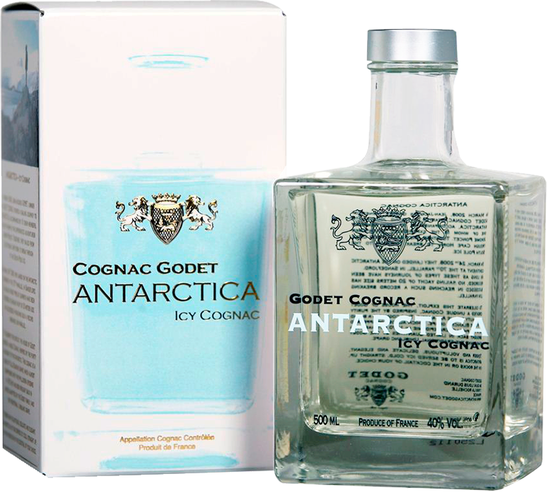 Godet, Antarctica, Icy White, in gift box, 0.5 л.