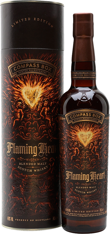 Compass Box, Flaming Heart, in gift box, 0.7 л.