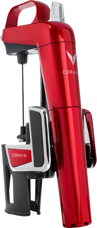 Coravin, Model Two Elite, Candy Apple Red