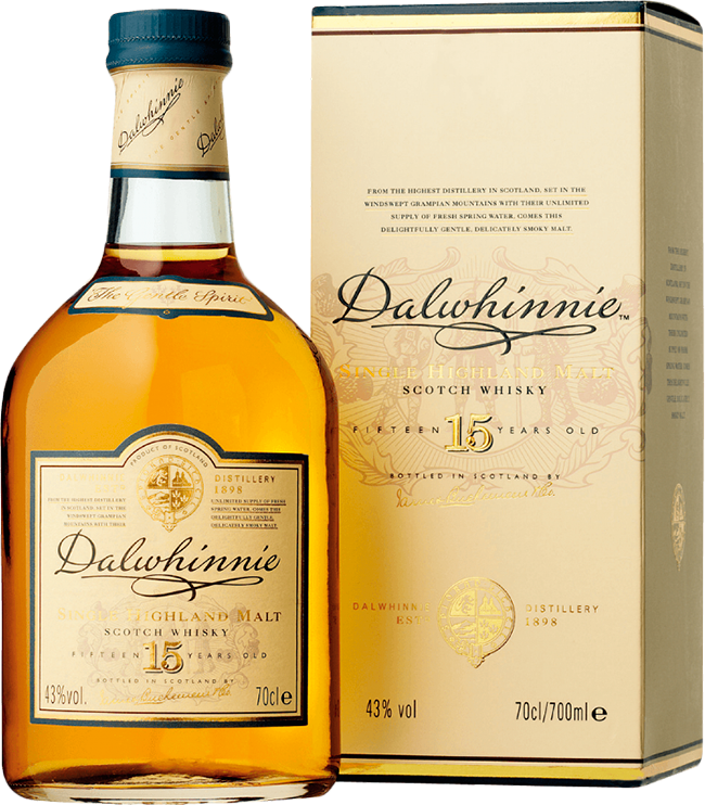 Dalwhinnie, 15 Years Old, in gift box, 0.7 л.
