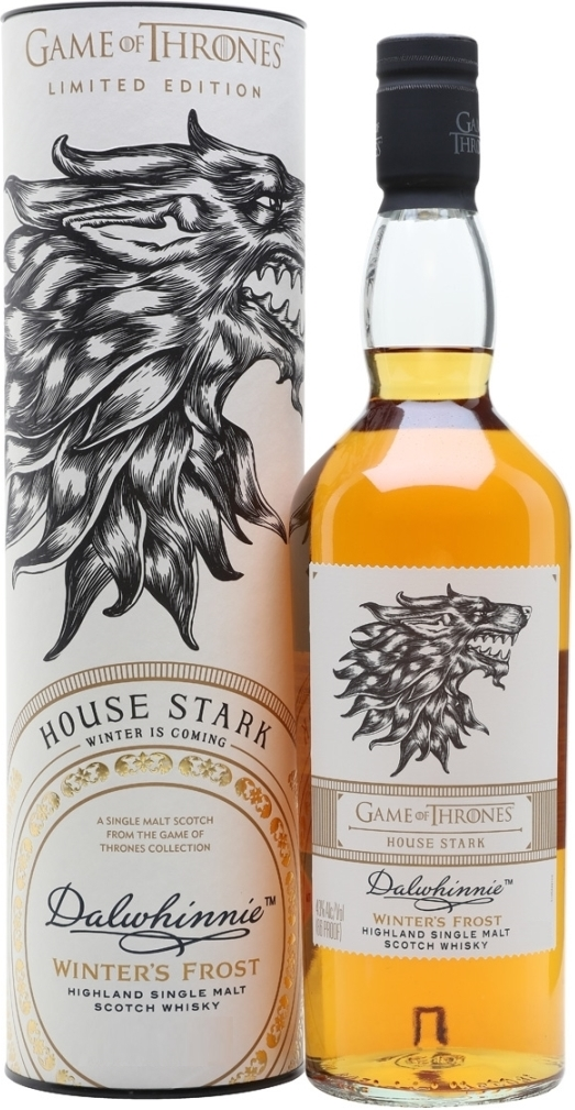 Game of Thrones, House Stark, Dalwhinnie Winter's Frost, in tube, 0.7 л.