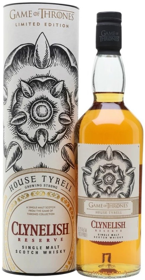 Game of Thrones, House Tyrell, Clynelish Reserve, in tube, 0.7 л.
