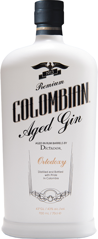 Gin Dictador, Ortodoxy Colombian Barrel Aged, 0.7 л.