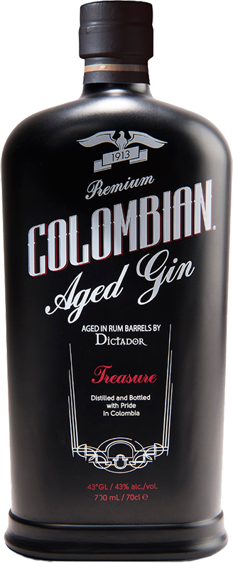 Gin Dictador, Treasure, Colombian Barrel Aged, 0.7 л.