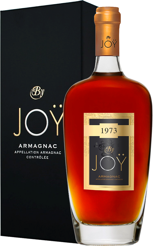 By Joy, Vintage 1973, in gift box, 0.7 л.