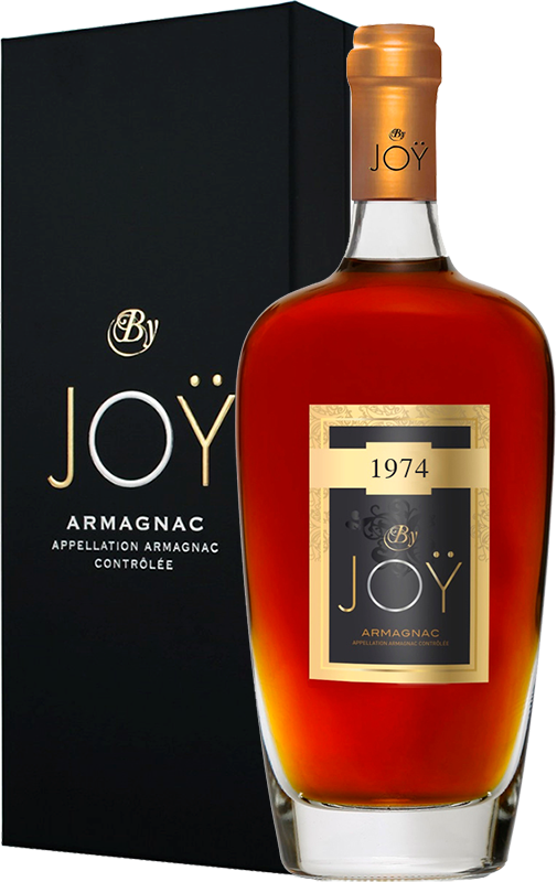 By Joy, Vintage 1974, in gift box, 0.7 л.