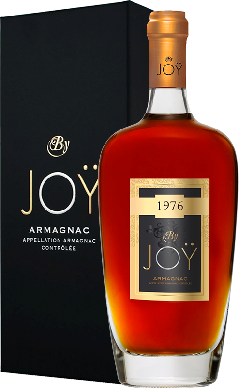 By Joy, Vintage 1976, in gift box, 0.7 л.