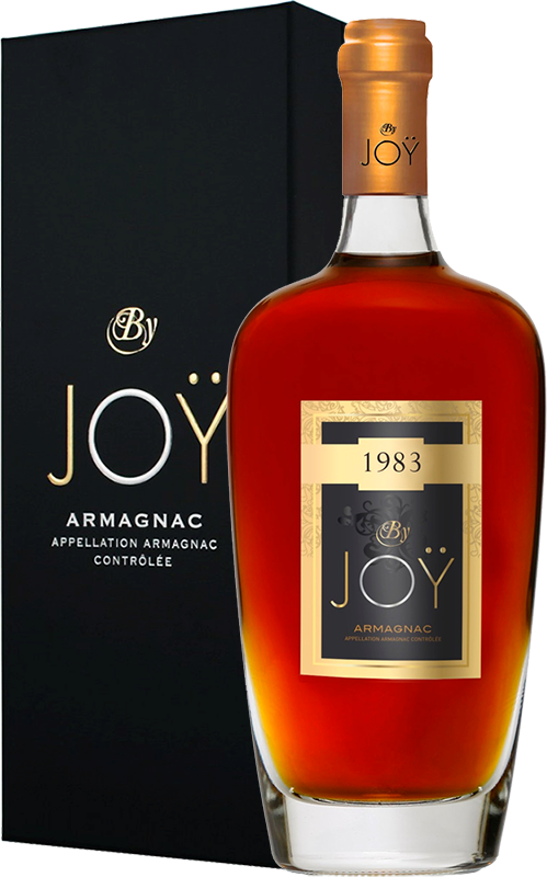 By Joy, Vintage 1983, in gift box, 0.7 л.