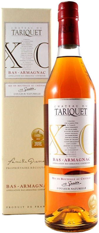 Chateau du Tariquet, X.O., in gift box, 0.7 л.