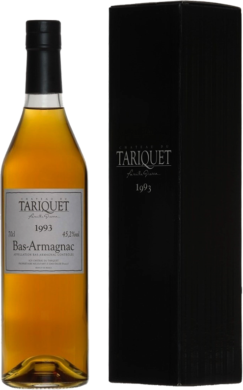 Chateau du Tariquet, Vintage 1993, in gift box, 0.7 л.