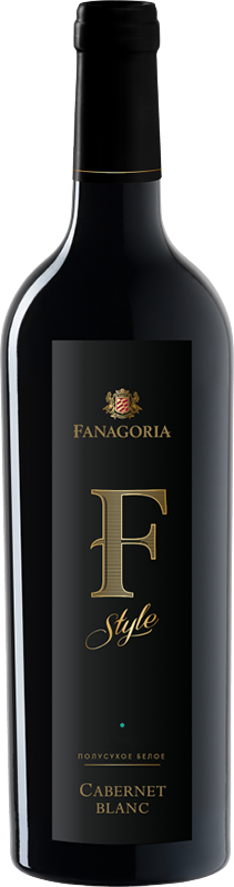 Fanagoria, F-Style, Cabernet Blanc