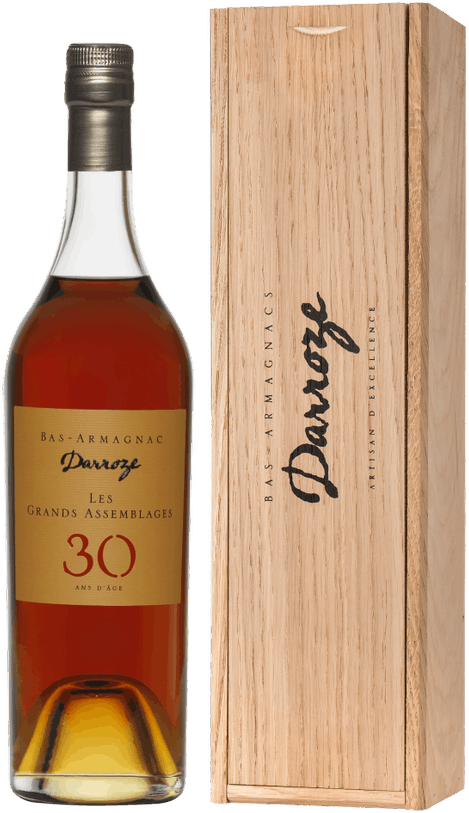 Darroze, Les Grands Assemblages, 30 Ans d'Age, Bas-Armagnac, in wooden box, 0.7 л.