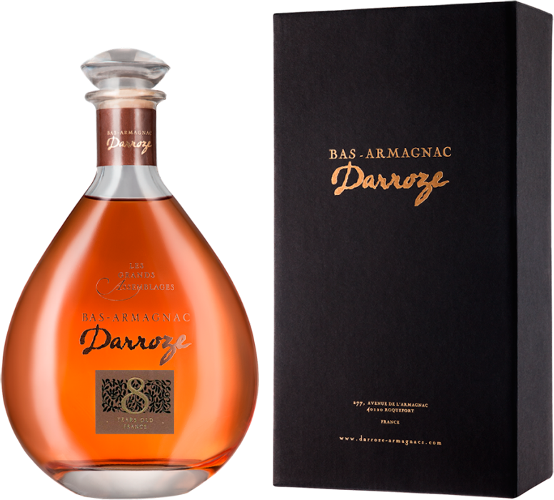 Darroze, Les Grands Assemblages, 8 Ans d'Age, Bas-Armagnac, in decanter & gift box, 0.7 л.