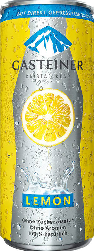 Gasteiner Lemon, Bergsommer, in can, 0,33 л.