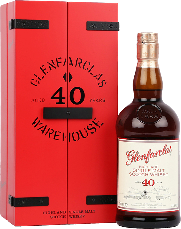 Glenfarclas, 40 Years Old, in wooden box, 0.7 л.