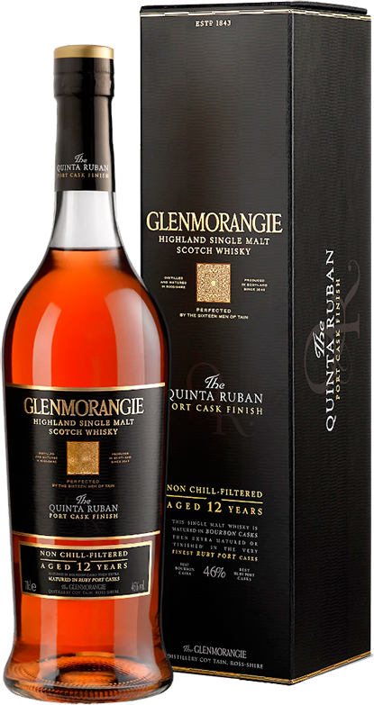Glenmorangie, The Quinta Ruban 12 Years, in gift box, 0.7 л.