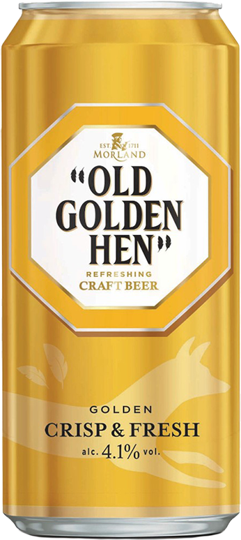 Morland, Old Golden Hen, in can, 0.5 л.