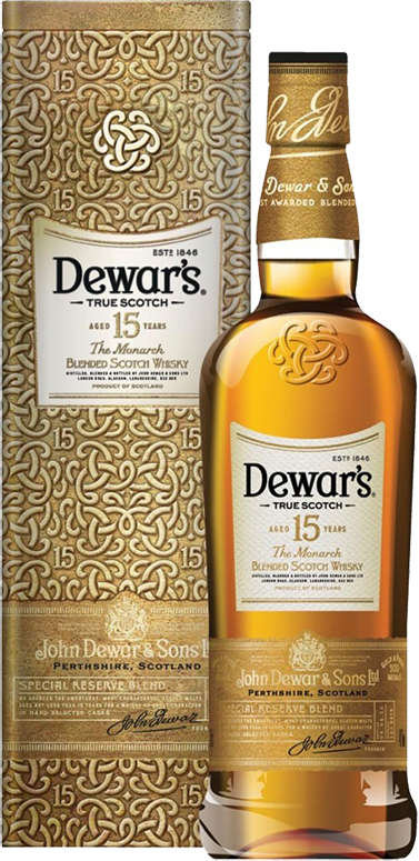 Dewar's The Monarch, 15 Years Old, in gift box, 0.75 л.