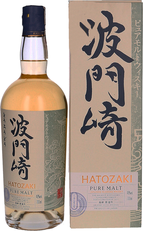 Hatozaki, Pure Malt, in gift box, 0.7 л.