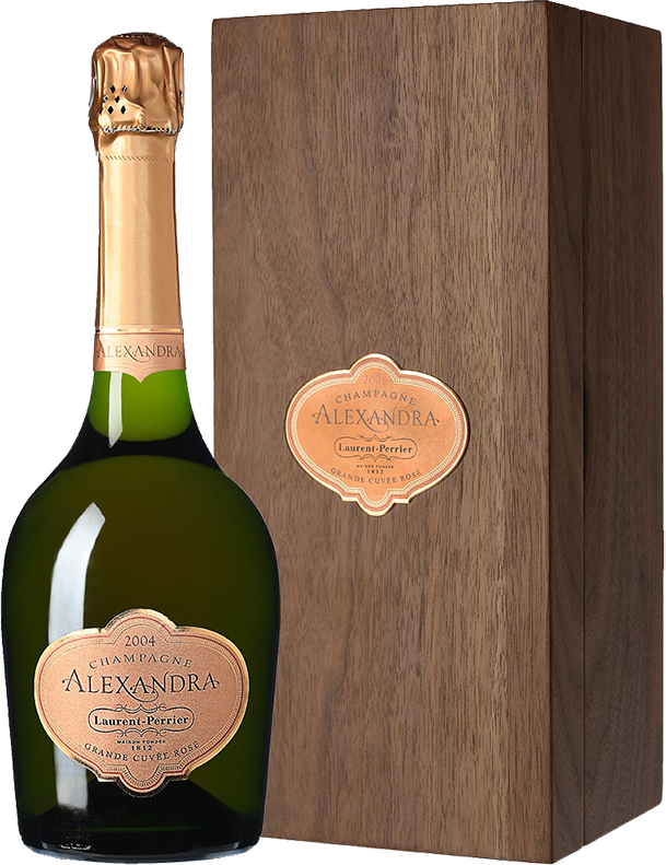 Laurent-Perrier, Alexandra, Grande Cuvee Rose, 2004, in wooden box, 0.75 л.