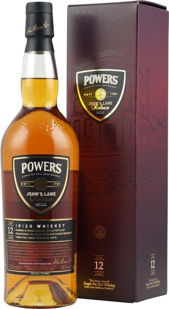 Powers, John's Lane Release, 12 Years Old, in gift box, 0.7 л.