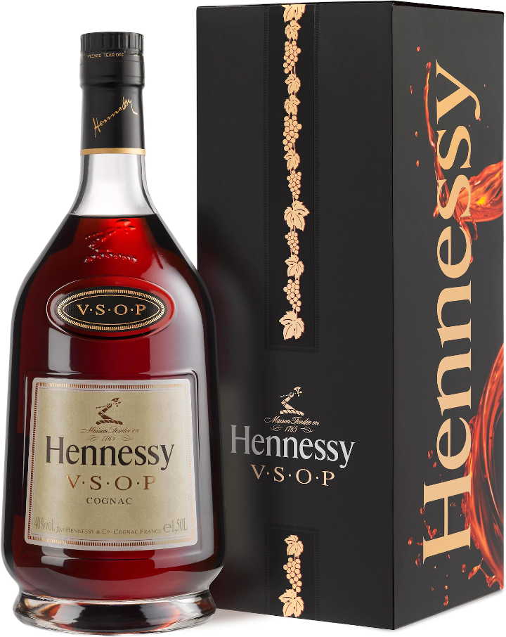 Hennessy V.S.O.P., in gift box, 1.5 л.