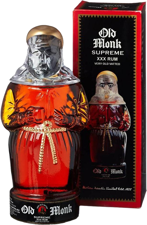 Old Monk, Supreme XXX, 12 Years Old, in gift box, 0.75 л.