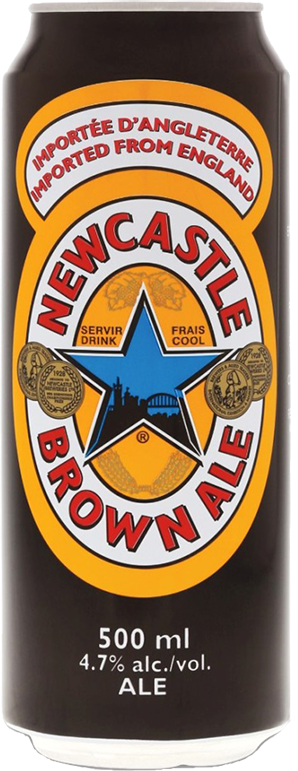 Newcastle, Brown Ale, in can, 0.5 л.