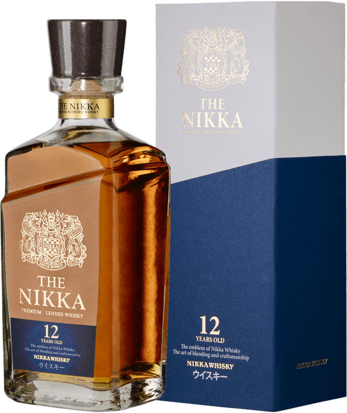 Nikka, 12 Years Old, in gift box, 0.7 л.
