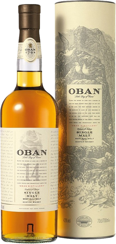 Oban, 14 Years Old, in gift box, 0.7 л.