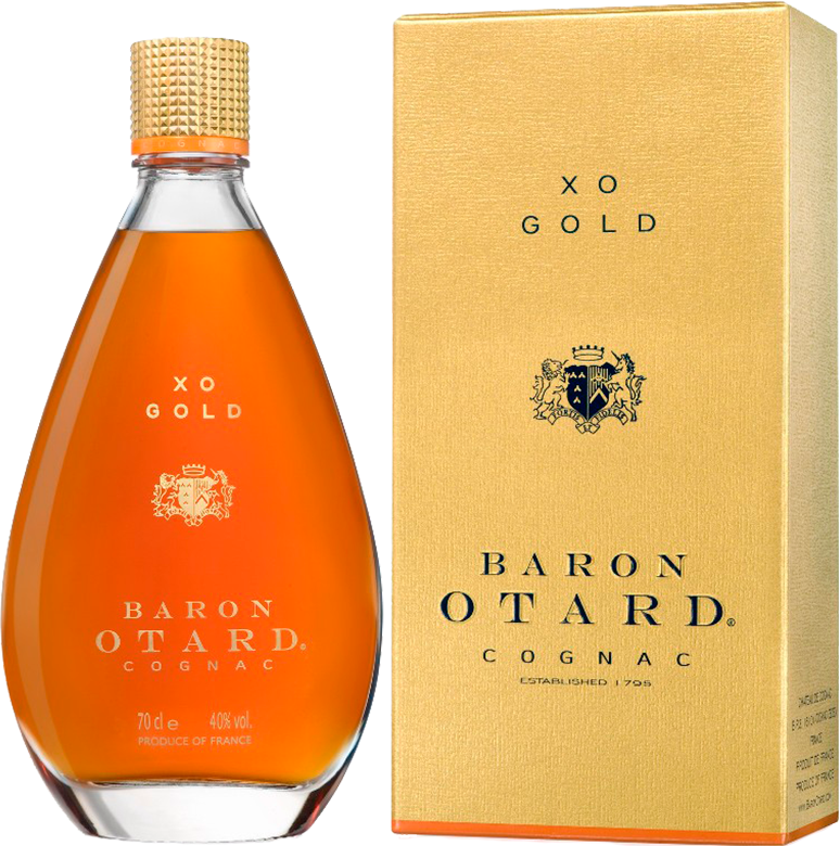 Baron Otard X.O. in gift box, 0.7 л.