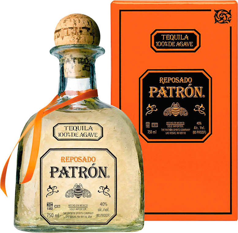 Patron, Reposado, in gift box, 0.75 л.