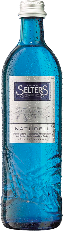 Selters Naturell, Still, in glass, 0.8 л.