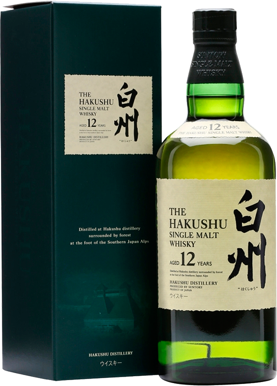 Suntory, Hakushu 12 Years Old, in gift box, 0.7 л.