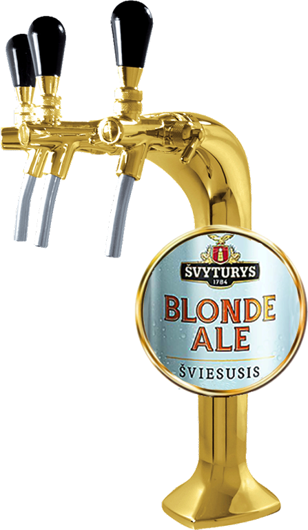 Svyturis, Blonde Ale, in keg, 30 л.